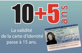 La Carte Nationale D Identite Est Valide 15 Ans A Compter Du 1er