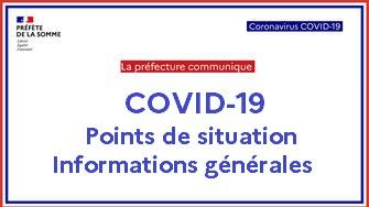 COVID-19 : point sur la situation dans la Somme