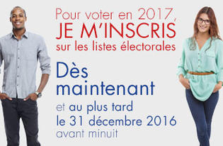 Elections 2017 : #OuiJeVote