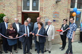 Inauguration de la pension de famille Monsieur Vincent à Amiens