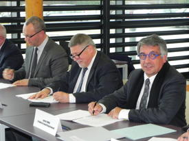 Signature de la convention de revitalisation du centre-bourg de Ham